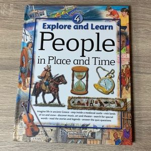 Explore and Learn People in place and time book